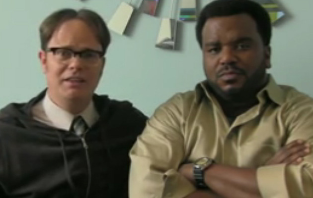 """The Office"" Stars Spoof Angus T. Jones' ""Filth"" Video"