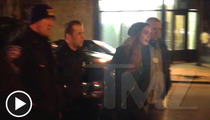 Lindsay Lohan -- ARRESTED FOR FIGHTING