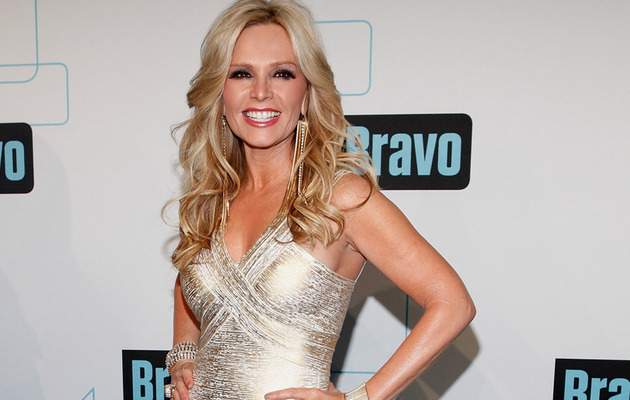 "Exclusive: ""Real Housewives"" Star Tamra Barney's Wedding Dress Details!"