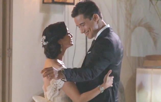 Video: Mario Lopez Weds Courtney Mazza!