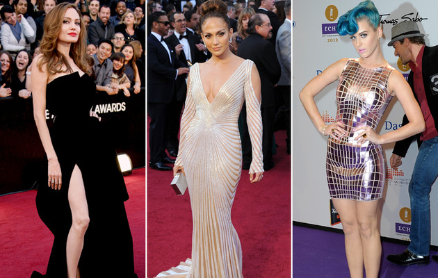 2012 Year In Review: The Sexiest Red Carpet Looks!