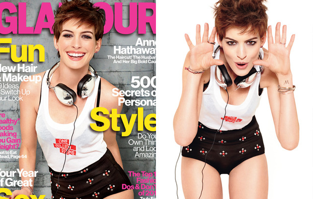 Anne Hathaway Talks Body Image, Hair and Love!