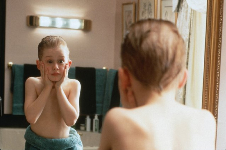 """Macaulay Culkin's most well known role to date is """"Home Alone."""" He played the youngest son, Kevin McCallister, that is left at home during the holiday season!"""