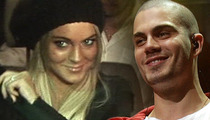 Lindsay Lohan -- I AM With the Band! Rides The Wanted's Tour Bus to Boston
