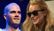 Max George -- I'm NOT Dating Lindsay Lohan ... And Didn't Invite Her Backstage