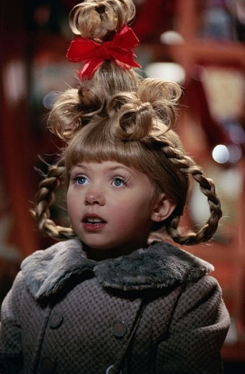 Taylor Momsen played the adorable Cindy Lou Who alongside Jim Carrey in the film, 'How the Grinch Stole Christmas.