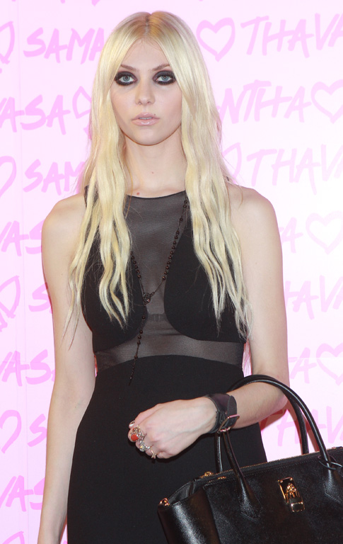 """Taylor Momsen is currently in a hard rock band and has a role in the hit t.v. series """"Gossip Girl."""""""