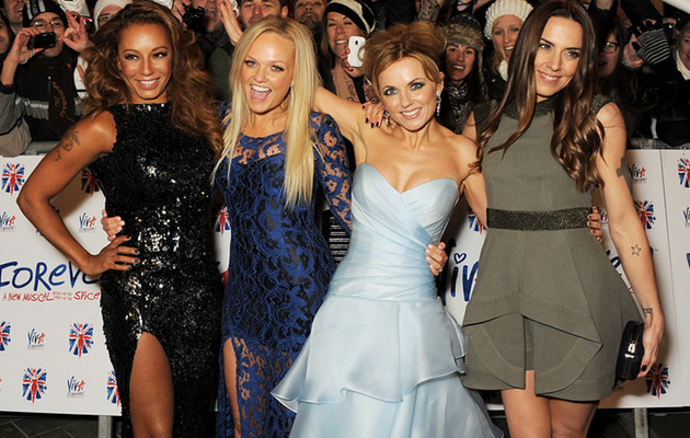 Spice Girls Reunite for New Musical Premiere -- Where's Posh?!