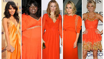 Stars Who Shine in Orange