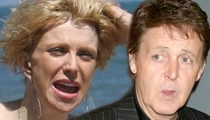 Courtney Love -- 'Not Amused' by Sir Paul McCartney Jamming With Nirvana