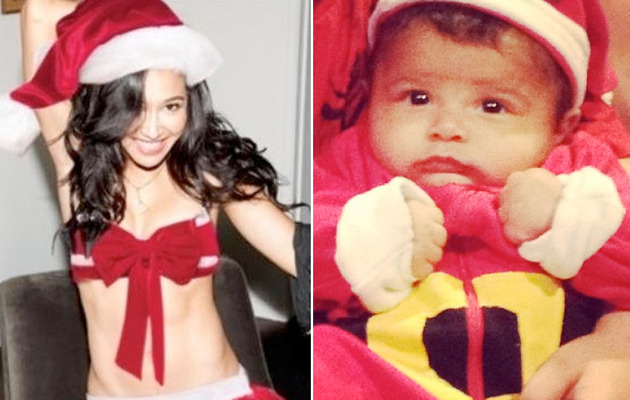 Babies, Babes & More -- Celebrity Holiday TwitPics