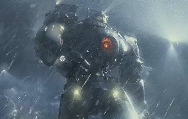 "First Look: Giant Monster Robot Flick ""Pacific Rim"""