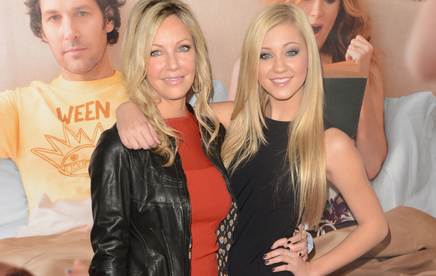 Heather Locklear Hits Red Carpet with Look-Alike Daughter