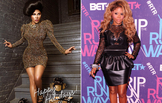 Is Lil' Kim's Holiday Card Her Most Ridiculous Look of 2012?