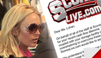 Strip Club to Lindsay Lohan -- We'll Save Your Storage Locker, IF ...