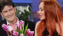 Lindsay Lohan -- Dear Charlie Sheen, Sorry I Never Said Thanks for the $100k