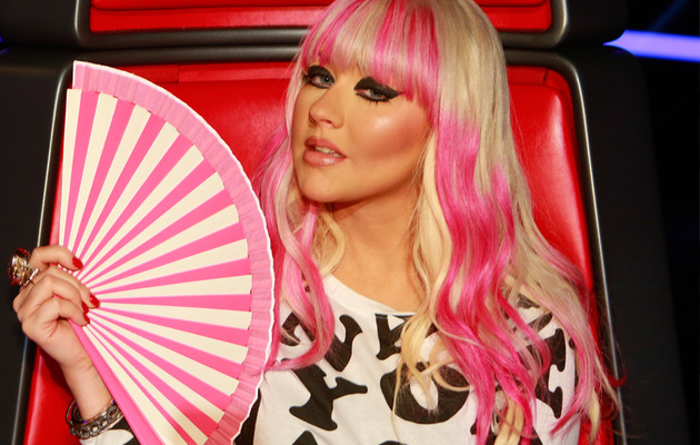 "Exclusive: Christina Aguilera's ""The Voice"" Fan Maker Revealed!"