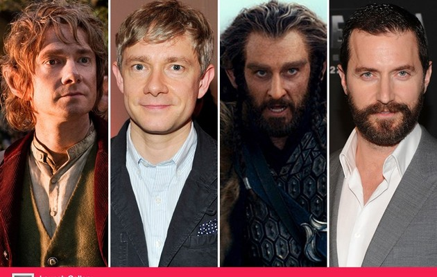"""The Hobbit"" Cast: With and Without Makeup!"