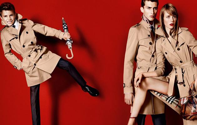 Romeo Beckham Makes Modeling Debut!
