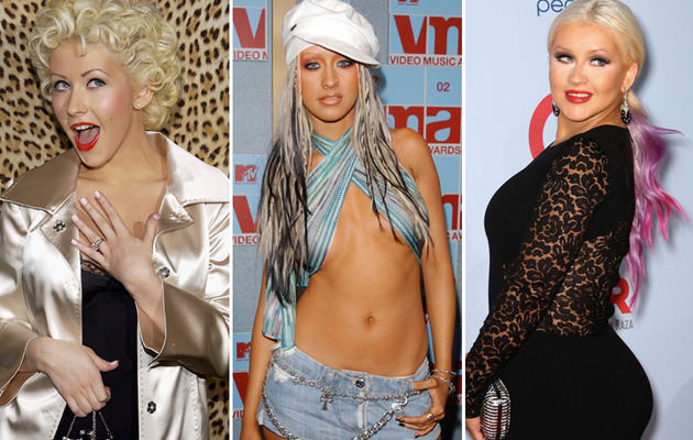 Christina Aguilera Turns 32 – See Her Craziest Looks!