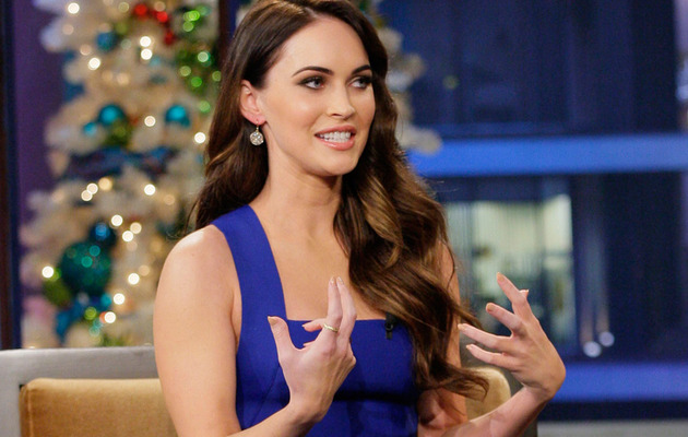 Video: Megan Fox Shows Off Her Least Favorite Body Part
