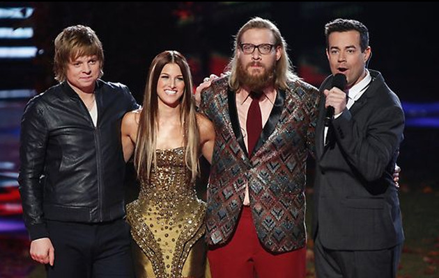 "The Winner of ""The Voice"" Is ..."