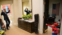 Barack Obama -- How Did SPIDER-MAN Get in the White House?
