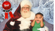 TMZ's Annual Santa Snapshot Photo Contest -- WINNER!