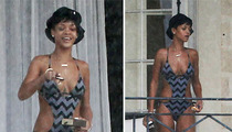 Rihanna -- Enjoy Your Frozen Xmas, CHUMPS!