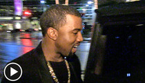 Kanye West -- Even the Paparazzi Should Have a Merry Xmas!
