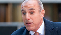 Matt Lauer -- People Are Screaming At Me On the Streets