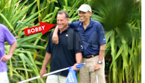 President Barack Obama -- Golf with Alleged Prostitution Solicitor