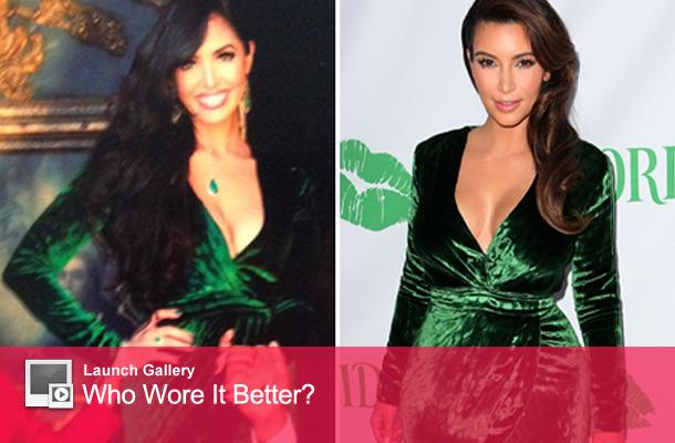 Dueling Dresses: Vanessa Bryant vs. Kim Kardashian