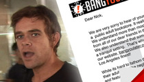 Porn Site to Nick Stahl -- Here's a Free iPad ... TO WATCH PORN!