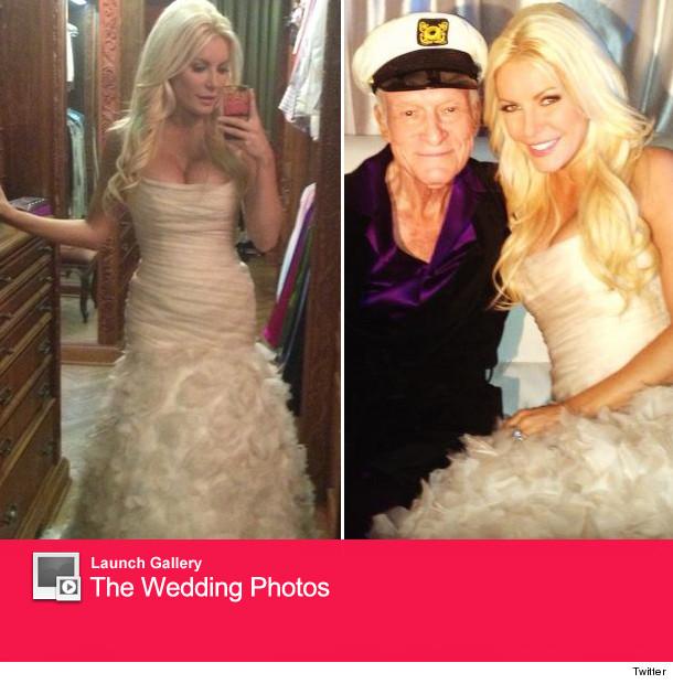 Hugh Hefner Marries Crystal Harris On New Years Eve
