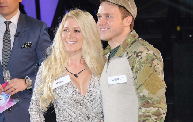 "Heidi & Spencer Head Into the ""Celebrity Big Brother"" House!"