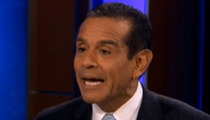 Mayor Antonio Villaraigosa -- Charlie Sheen's Not My Bro ... It's Just a Picture