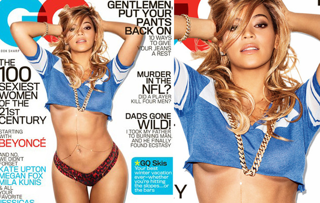 Beyonce Flaunts Ridiculous Stomach On Sexy GQ Cover
