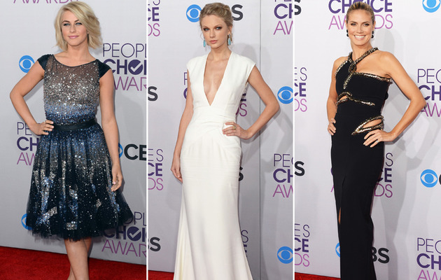 Single and Sexy! Taylor Swift Wows at People's Choice Awards