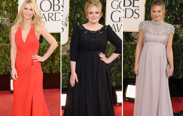 Golden Globes Red Carpet: Hot Moms and Moms-To-Be!