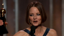 Jodie Foster Kinda Comes Out at The Golden Globes