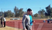 Tim Tebow Lands in Arizona -- Training at Community College