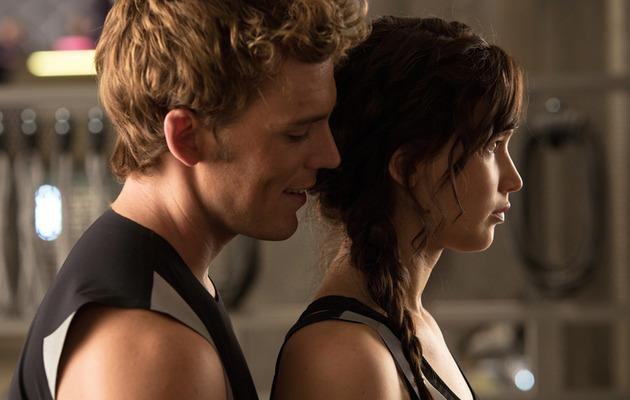 "See Katniss, Finnick & Peeta In New ""Catching Fire"" Pics"