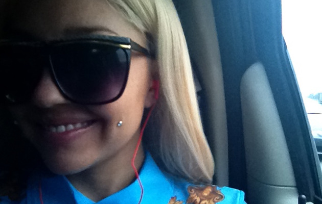 Photo: Amanda Bynes Pierces Her Cheek