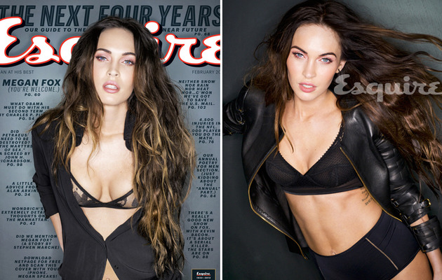 Megan Fox Disses Lindsay Lohan, Talks Leprechauns