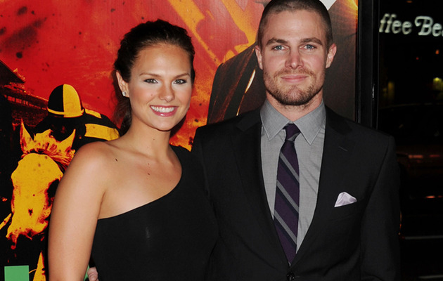 "Just Married: Stephen Amell and ""America's Next Top Model"" Star Cassandra Jean"