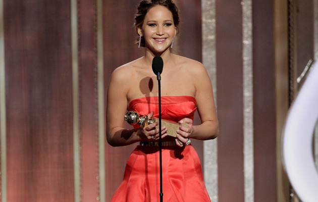 Jennifer Lawrence Responds to Golden Globe Backlash