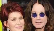Sharon Osbourne -- Candle Sets Beverly Hills Home on Fire