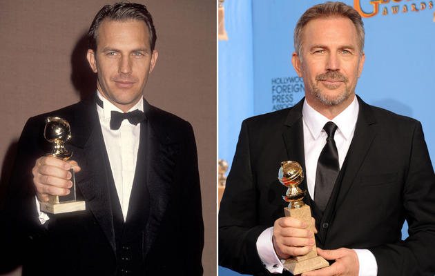 Kevin Costner Turns 58 -- See More '90s Hunks Today