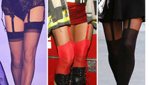 Sexy Stockings -- Guess Who!